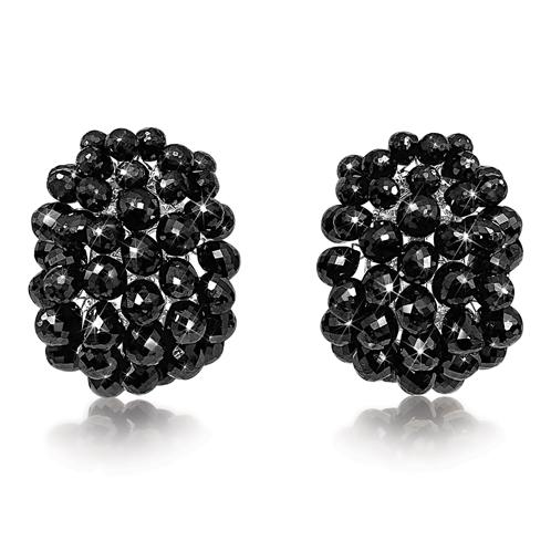 Verdura-Jewelry-Briolette-Earclips-Black-Diamond