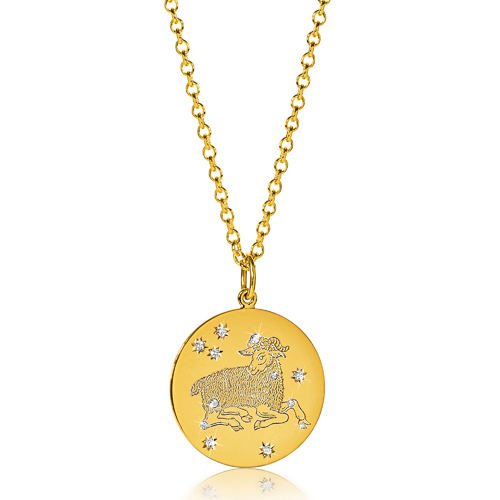 Verdura-Jewelry-Zodiac-Pendant-Necklace-Aries-Gold-Diamond