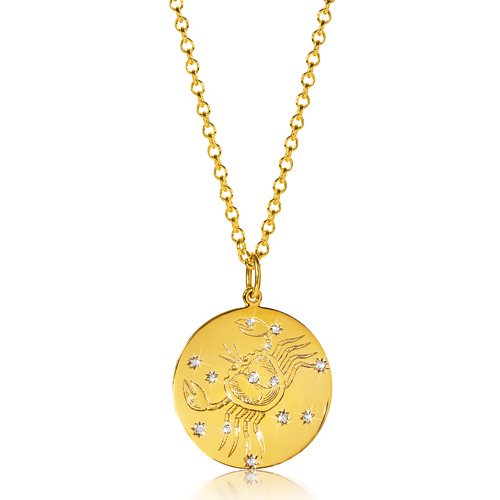 Verdura-Jewelry-Zodiac-Pendant-Necklace-Cancer-Gold-Diamond