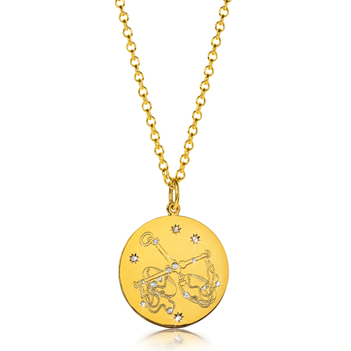 Verdura-Jewelry-Zodiac-Pendant-Necklace-Libra-Gold-Diamond