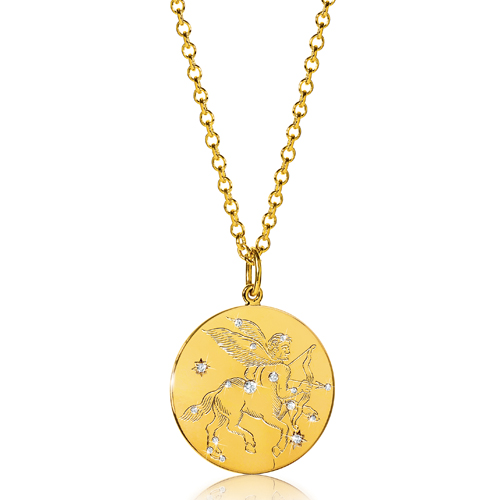 Verdura-Jewelry-Zodiac-Pendant-Necklace-Sagitarrius-Gold-Diamond