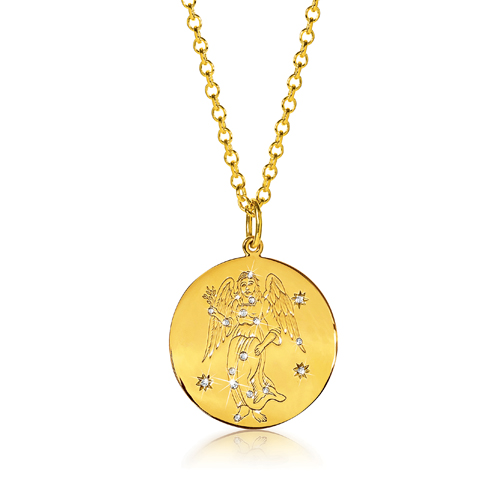 Verdura-Jewelry-Zodiac-Pendant-Necklace-Virgo-Gold-Diamond
