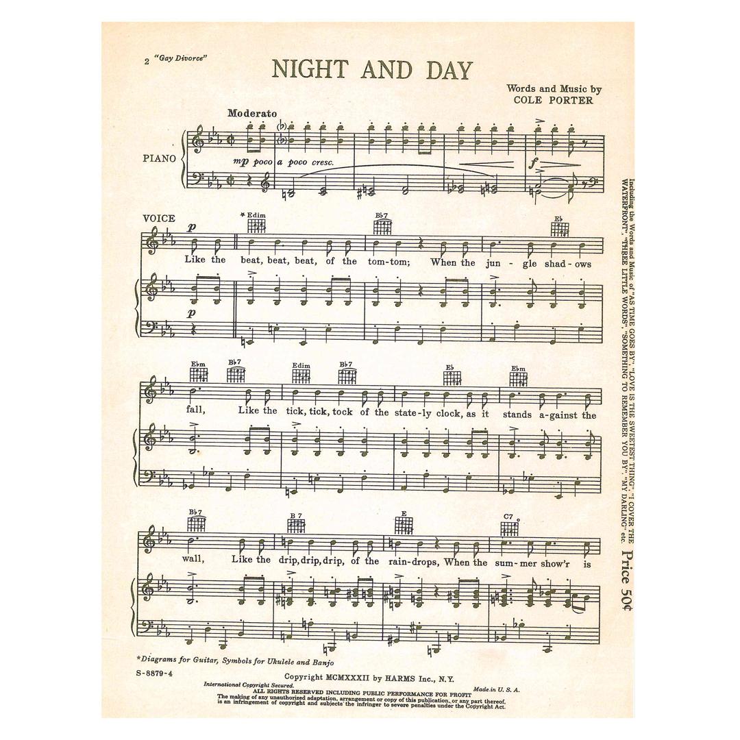 night-and-day-sheet-music
