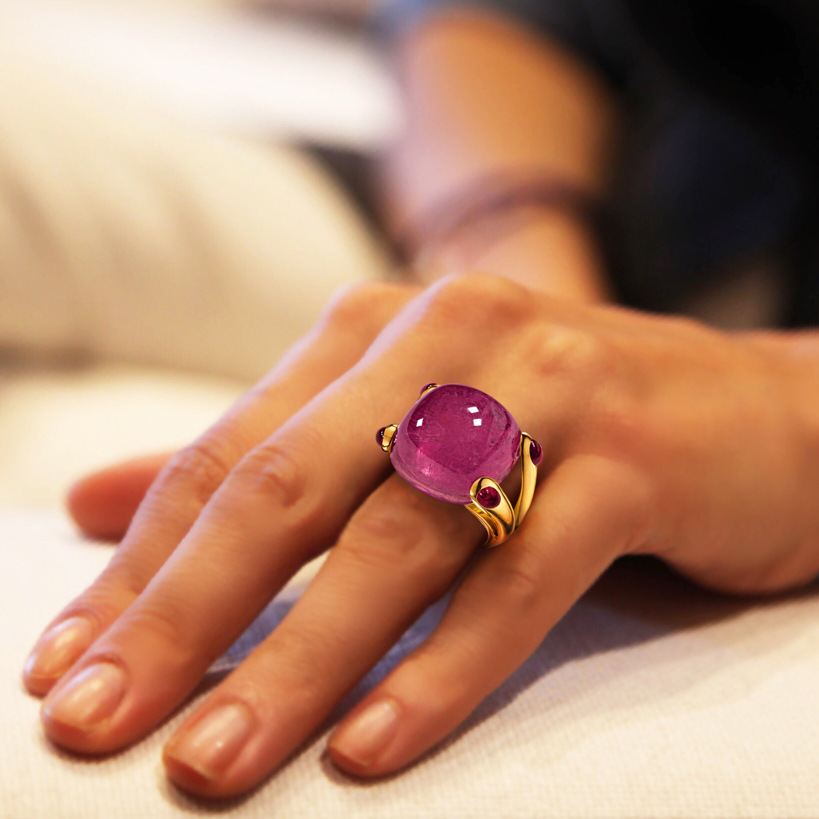 Candy Ring Rubellite
