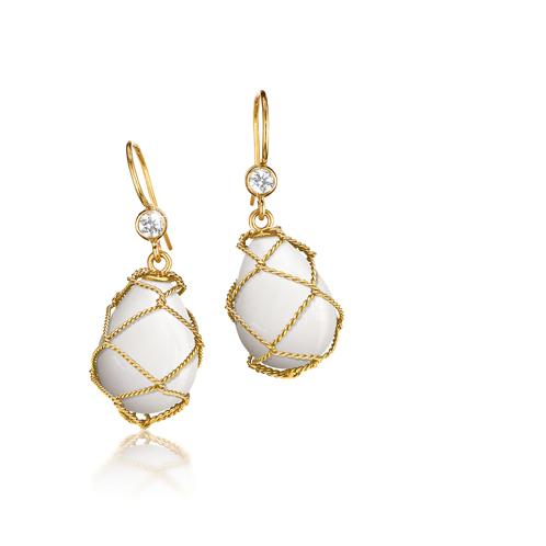Verdura-Net-Drop-Earrings-White-Coral