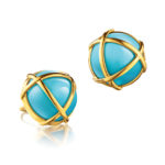 Verdura-Jewelry-Caged-Earclips-Gold-Turquoise-150x150