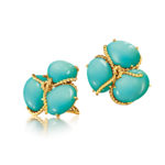 Verdura-Jewelry-Rope-Cluster-Earclips-Turquoise-Gold-150x150