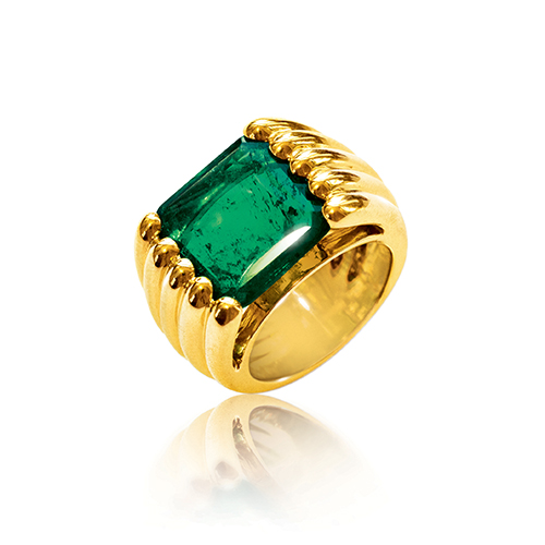 Reeded Ring